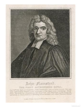 John Flamsteed English Clergyman and Astronomer