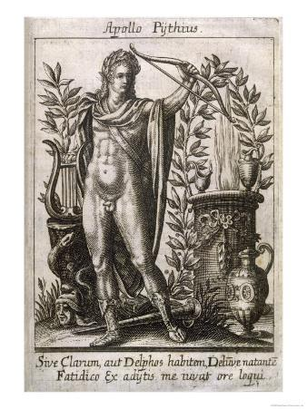 Apollo Pythias the Greek God of the Arts Including Divination