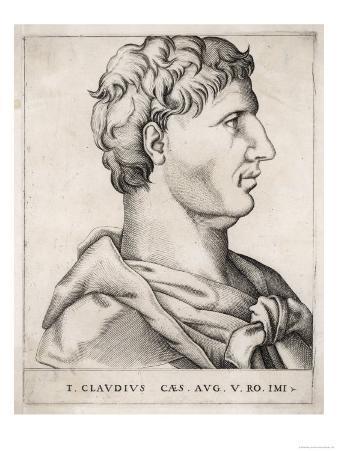 Tiberius Claudius Drusus Nero Germanicus Roman Emperor