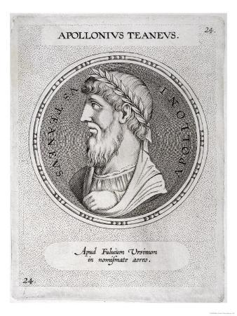 Apollonius of Tyana Greek Philosopher Credited with Magical Powers Including Restoring to Life