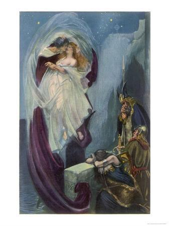 """""""Tristan and Isolde"""" the Lovers' Rapture"""