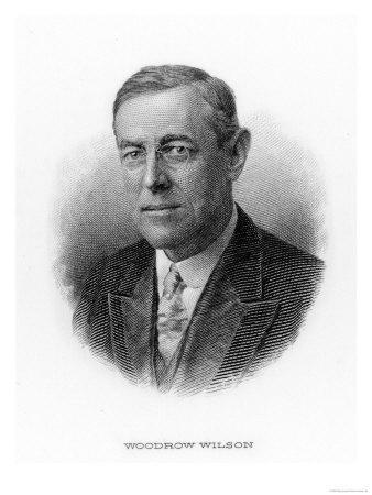 Woodrow Wilson 28th Us President