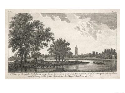 Kew Gardens c.1770