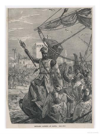 Third Crusade, Richard I after Taking Acre Advances to Jaffa