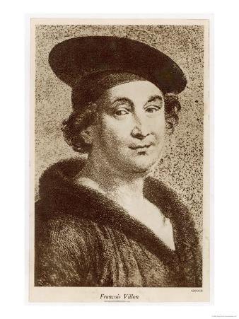 Francois Villon French Poet