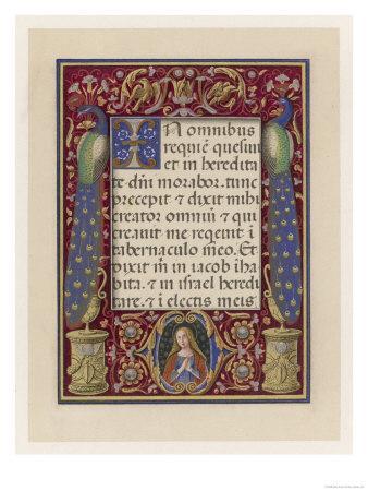 Illumination from an Italian Book of Hours