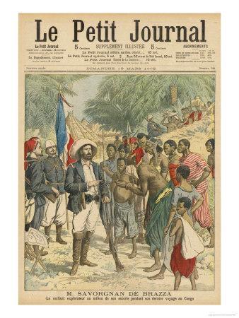 Pierre Savorgnan de Brazza French Explorer in the Congo 1875-1885