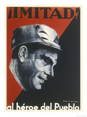 Buenaventura Durruti Communist Militant Leader During Spanish Civil War