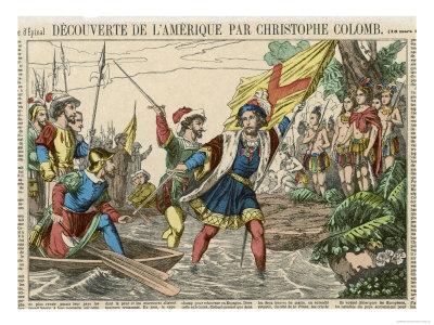 Columbus Lands 1492