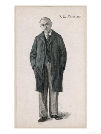 Joris-Karl Huysmans French Novelist of Dutch Descent