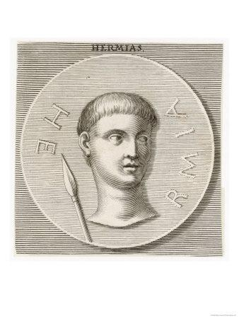 Hermias Tyrant of Artaneus and Assos Friend and Patron of the Greek Philosopher Aristotle