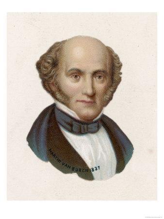 Martin Van Buren 8th Us President
