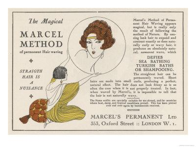 The Magical Marcel Method of Permanent Hair Waving