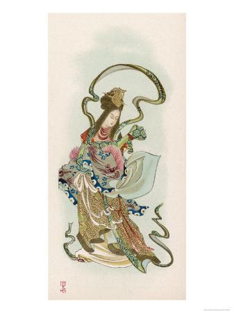 Benzaiten, Goddess of Grace and Beauty
