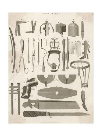 Variety of Surgical Instruments