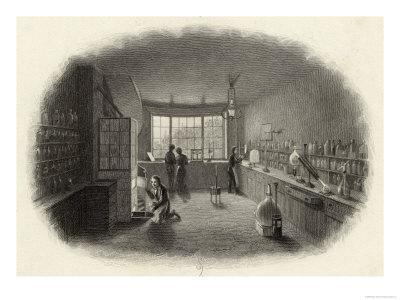 Scientists at Work in a Laboratory