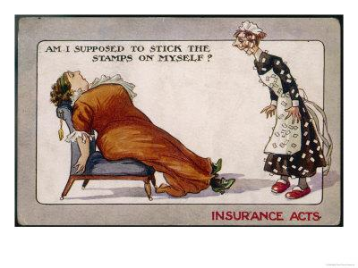 Comment on Lloyd George's National Insurance Act