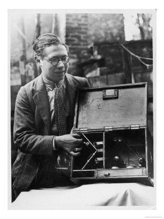 Young William Pritchard and His Invention the Magic Box
