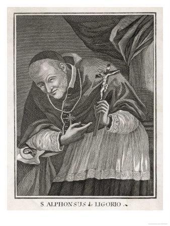 Alfonso Maria de Liguori Neapolitan Founder of the Order of Redemptorists