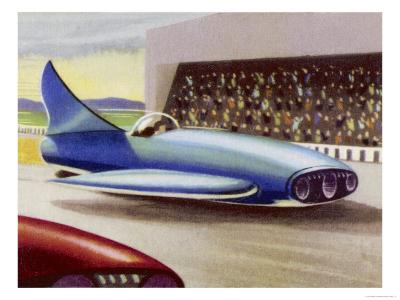 Motor Racing with Atom-Powered Vehicles