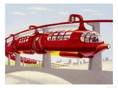 Jet-Propelled Monorail