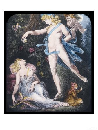 A Midsummer Night's Dream, Oberon and Titania from Shakespeare's Midsummer Night's Dream