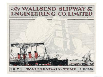 Brochure for the Wallsend Slipway and Engineering Company Northumberland