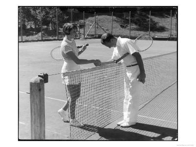 Tennis Chivalry 1930s