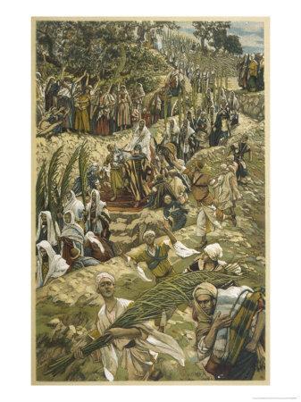 Jesus Enters Jerusalem on Palm Sunday