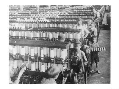 Boys Working in the Olympian Cotton Mills South Carolina