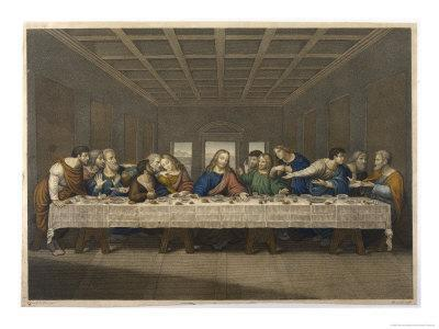 Jesus' Last Supper with His Disciples
