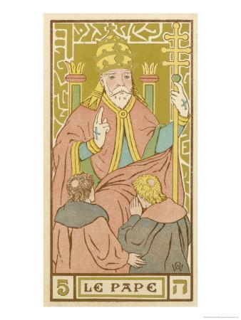 Tarot: 5 Le Pape, The Pope