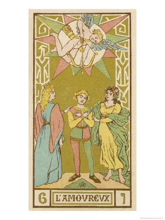 Tarot: 6 L'Amoureux, The Lover