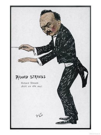 Richard Strauss German Musician Conducting