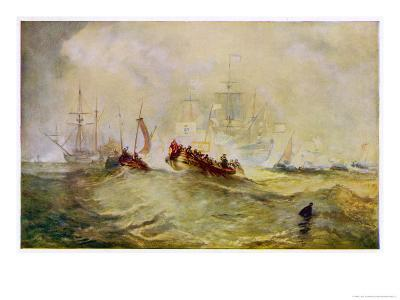 William III Lands in England at Torbay