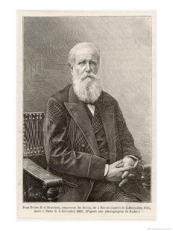 Dom Pedro de Alcantara Emperor of Brazil 1831-1889