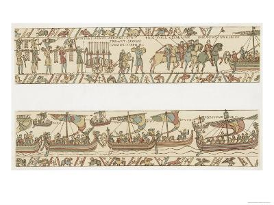 Bayeux Tapestry: Weapons and Wine are Put