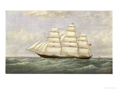 British Sailing Clipper for the China Tea Trade