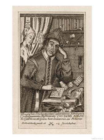 Jack Adams, Astrologer of Clerkenwell London Prepares a Horoscope for a Woman