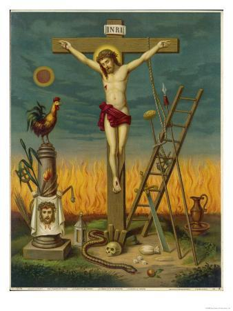 Allegory of Jesus Crucified Surrounded by Relics and Other Symbolic Attributes