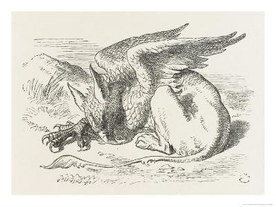 The Griffin Asleep