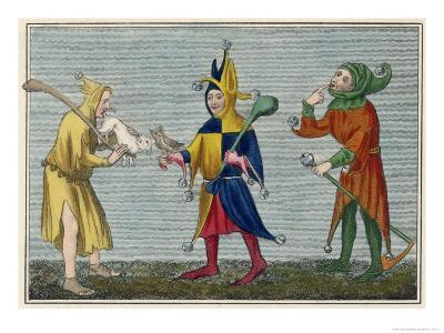 Court Jesters of the 14th Century