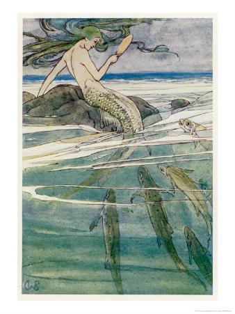 Peter Pan, Mermaid on a Rock