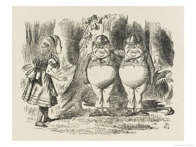 Alice Meets Tweedledum and Tweedledee