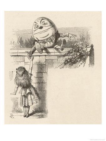 Alice Meets Humpty-Dumpty