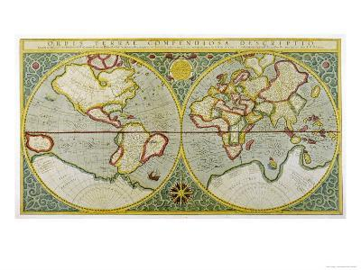 Map of the World by Gerhard Mercator