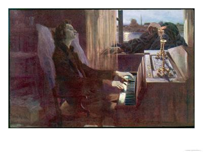 Frederic Chopin Polish Musician the Last Notes