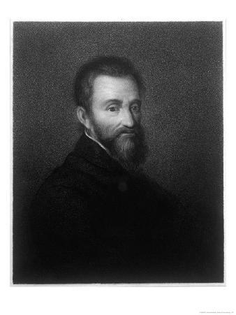 Michelangelo Buonarotti di Lodovico Simoni Italian Sculptor Painter Architect and Poet
