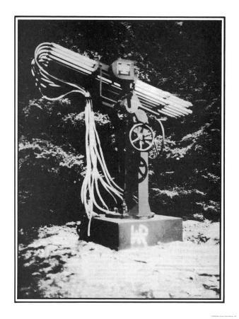One of Wilhelm Reich's Weather-Influencing Devices