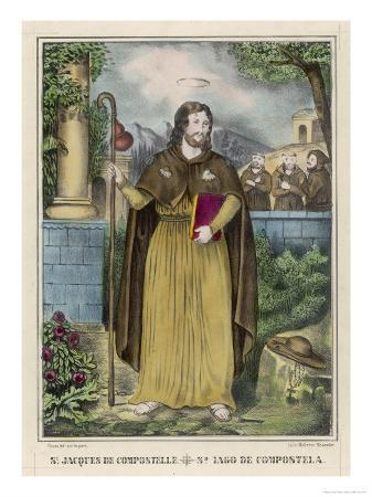 Saint James the Great Christian Apostle in Spain